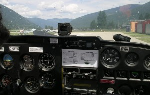 The dashboard – fortunately the pilot knew what these all meant