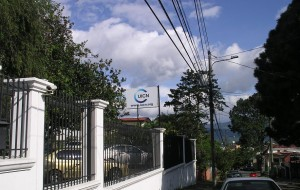 The regional office of the IUCN for the Mesoamerica and Caribbean region where DE met with an IUCN biodiversity expert.